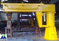Jib cranes are used for specific lifting applications or as additional handling devices and can be used at any corner of the working area. Standard capacity ranges from 1ton to 10ton depending upon customer requirements. www.vmecranes.com