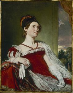 Louisa Catherine Adams by Charles Robert Leslie