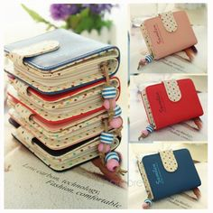 Cheap women wallet short, Buy Quality wallet short directly from China fashion women wallets Suppliers: New fashion colorful lady Candy Color lovely purse clutch women wallets short small bag PU leather card hold