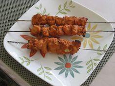 Lebanese Chicken Skewers Recipe