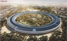 Nova sede da Apple tem mais estacionamentos do que escritórios