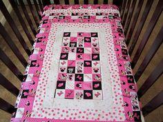 Custom Order Minnie Mouse Crib Set