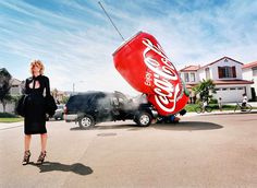 Bid now on Inflatables: Coke Can by David LaChapelle. View a wide Variety of artworks by David LaChapelle, now available for sale on artnet Auctions. David Lachapelle, Photography Projects, Fine Art Photography, Fashion Photography, Street Photography, Landscape Photography, Portrait Photography, Photography Career, Heart Photography