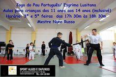 Jogo do Pau - Esgrima Lusitana: Aulas a partir de Setembro -Sport Algés e Dafundo-