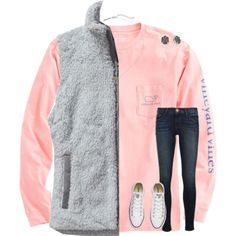 😛💘 by mimichavi on Polyvore featuring polyvore, fashion, style, Vineyard Vines, Patagonia, Frame, Converse, Kendra Scott and clothing