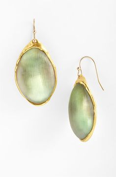 True creativity in jewelry using Lucite in a whole new organic way, from Alexis Bittar.  The color in person was so luminous.
