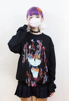 MELTYGIRL *Black* Sweater – OMOCAT