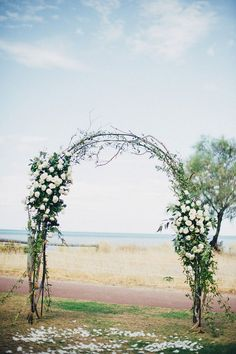 Natural wedding arbo