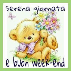 Winnie The Pooh, Good Morning, Disney Characters, Fictional Characters, Teddy Bear, Safari, Animals, Nighty Night, Dibujo