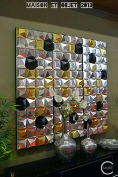 C-More : High-lights Maison et Objet 2013 part 2 | Wall covering  | geometric metallics