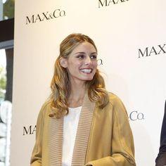 """""""MAX&Co.のスタイルアンバサダー、オリヴィア・パレルモが表参道のショップに登場! #oliviapalermo #model #maxandco"""""""