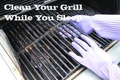 """With warmer temps, it's only natural to want to """"Grill"""".  Here's how you can clean your grill if you are like me and didn't clean it at the end of the grilling season last year."""