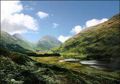 Glen Etive, skotská Vysočina - Země nikoho, autor: Jaromír Hanák