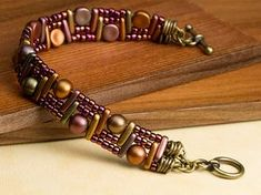Free Ideas: Artbeads.com - Temple Steps ~ Seed Bead Tutorials