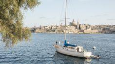 Valletta view from Sliema sea-front - Malta, Europe