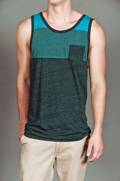 jackthreads -- tank top with front pocket.