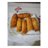 Risol Roti Tawar Sosis Mayonnaise Mayonnaise, French Toast, Breakfast, Recipes, Food, Diy, Crafts, Morning Coffee, Manualidades