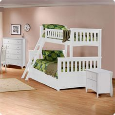 Ladder by head area - Factorybunkbeds.com