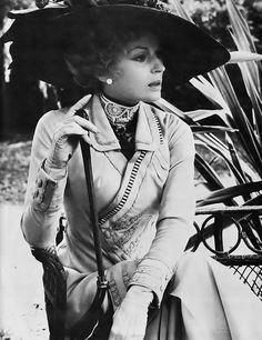 "deshistoiresdemode: Silvana Mangano in ""Death in Venice"" by Luchino Visconti, Hollywood Stars, Classic Hollywood, 70s Films, Best Costume Design, Luchino Visconti, Ziegfeld Girls, Cinema Theatre, Drama Film, Movie Costumes"
