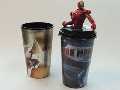 Vaso Iron Man  #ironman #geek #coleción  #movie #cine
