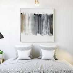 画皮墨迹抽象方形装饰画客餐厅现代简约挂画玄关壁画沙发背景墙画-淘宝网