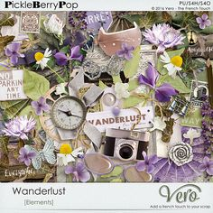 Wanderlust [Elements Pack] By Vero