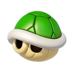 View an image titled 'Green Shell Art' in our Mario Kart 8 art gallery featuring official character designs, concept art, and promo pictures. Mario Wii, Mario Kart 8, Mario And Luigi, Super Mario Bros, Super Mario Birthday, Super Mario Party, Super Mario Brothers, Super Smash Bros, Mario Pumpkin