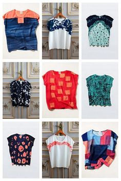 great summer silk blouses for work.