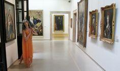 Danza en el museo Bellas Artes de Asturias