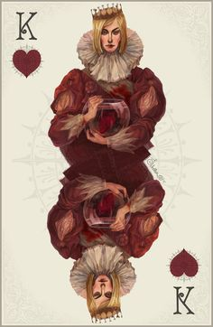 King of Hearts - colour- by *Quberon on deviantART