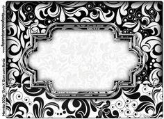 Blanco y Negro: Etiquetas para Candy Bar para Imprimir Gratis. http://www.ohmyfiesta.com/2014/08/blanco-y-negro-etiquetas-para-candy-bar.html
