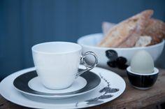 Magnor | Lerk | Tableware | Halvor Bakke | Norwegian Design The Dish, Home Interior Design, A Table, Tea Cups, Dining Room, Meals, Dishes, Tableware, Power Supply Meals