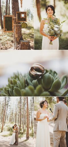 Idaho Campground Wedding from Sara K Byrne Photography | The Wedding Story