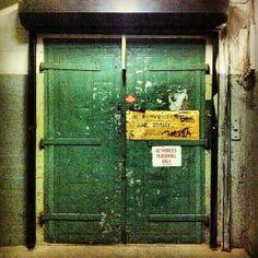 A DOOR A DAY — Brooklyn Warehouse door