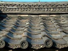 Roof tile detail