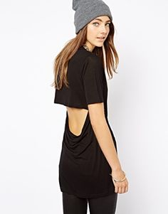 Image 2 ofCheap Monday T-Shirt With Open Back