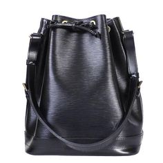 Louis Vuitton Black Epi Noe Shoulder Bag | 1stdibs.com