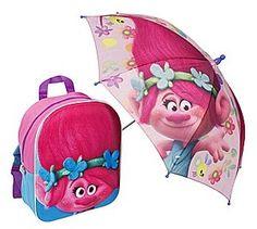 Trolls Backpack & Umbrella. Backpack Umbrella, Kids Umbrellas, Troll, Backpacks, Bags, Handbags, Backpack, Backpacker, Bag