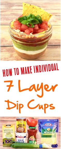 7 Layer Dip! Such a fun, easy Mexican appetizer recipe! | NeverEndingJourneys.com