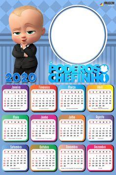 Calendar Pictures, Kids Calendar, Calendar Design, Magazine Cover Template, Baby Boy 1st Birthday Party, Boss Baby, Lol Dolls, New Year Card, Gisele