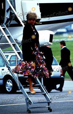 Princess Diana Aberdeen Photo: Dave Chancellor / Alpha / Globe Photos Inc 1991 Princessdianaretro