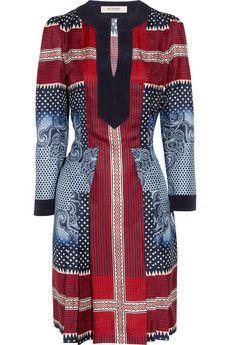 Etro  Printed silk-twill dress  $1,570