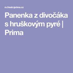 Panenka z divočáka s hruškovým pyré | Prima