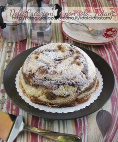 Zuccotto semifreddo al caffe' | ricetta facile dolce a cucchiaio
