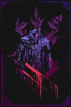 """""""ASH CROW"""" (Berserk PRINT), Anato Finnstark on ArtStation at https://www.artstation.com/artwork/EmOyA"""