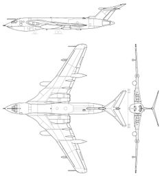 93 best aircraft orthographic projections images aircraft Grumman F -14 Tomcat hp 80 victor handley page victor military aircraft cutaway bombers caricatures