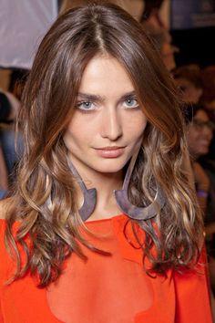 Summer Hair Trend: Rock n Roll Waves, Diane von Furstenberg