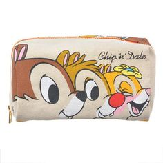 Chip 'N Dale Canvas Wallet