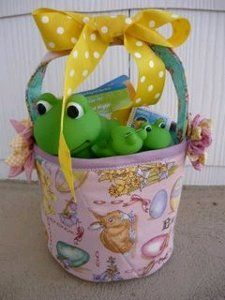 Sewn Easter Basket | AllFreeSewing.com