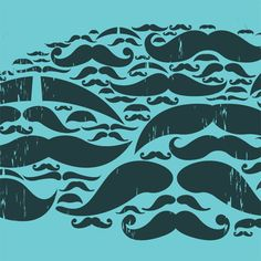 mustaches are everywhere